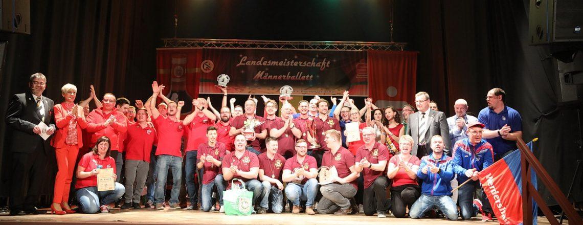 12. Landesmeisterschaften der Männerballette
